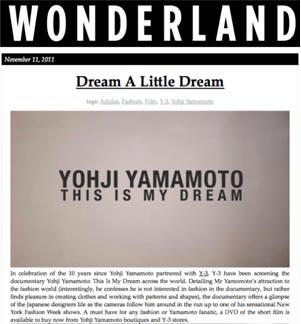 Wonderland Magazine.com